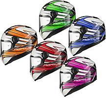 Agrius Rage Charger Motorcycle Helmet