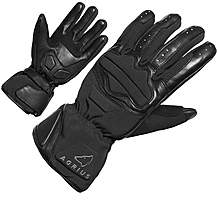 image of Agrius Slate Leather Motorcycle Gloves