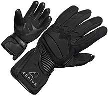 image of Agrius Prey Leather Motorcycle Gloves