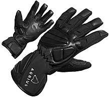 image of Agrius Warp Leather Motorcycle Gloves