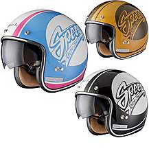 image of Black Jam Limited Edition Motorcycle Helmet