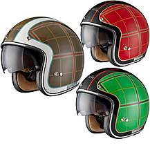 image of Black Highland Limited Edition Motorcycle Helmet