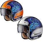 image of Black Moto-racer Limited Edition Motorcycle Helmet