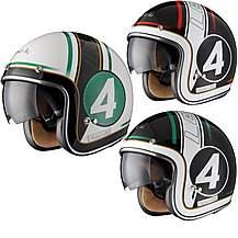 image of Black Striker Limited Edition Motorcycle Helmet