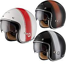 image of Black Stripe Limited Edition Motorcycle Helmet