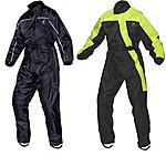 image of Black Beacon Waterproof Motorcycle Rainsuit