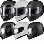 image of Black Titan Solid Motorcycle Helmet
