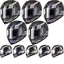 image of Black Titan Speed Motorcycle Helmet
