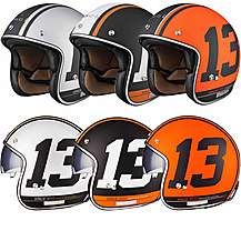 image of Black Limited Edition 13 Open Face Helmet