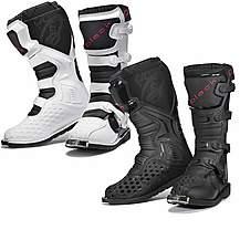 Black Mx Enigma Motocross Boots