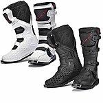 image of Black Mx Enigma Motocross Boots