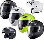 image of Shox Bullet Flip Front Motorcycle Helmet
