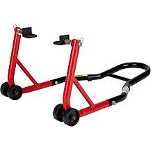 image of 5073 - Black Pro Range B5073 Rear Paddock Stand (with Rubber Cradle Cup Adaptors)