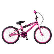 image of Concept Diva Girls Junior 16inch Wheel Bmx Bike Pink