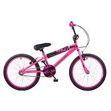 image of Concept Diva Girls Junior 16inch Wheel Bmx Bike Pink