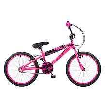 image of Concept Diva Girls Junior 20inch Wheel Bmx Bike Pink