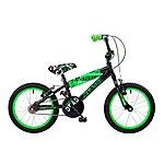 image of Concept Zombie Kids Boys 16inch Wheel Bmx Bike