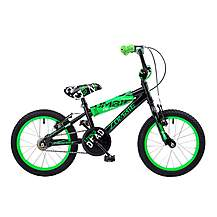 image of Concept Zombie Kids Boys 16inch Wheel Bmx Bike