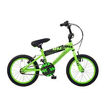 image of Concept Android Kids Boys Junior 16inch Wheel Bmx Bike Bicycle Neon Green
