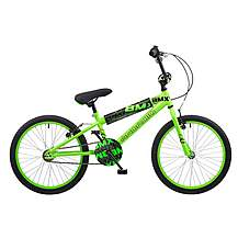image of Concept Android Kids Boys Junior 18inch Wheel Bmx Bike Bicycle Neon Green