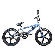 image of Rooster Big Daddy Bmx 20in Black Skyway Mag Freestyle Bike Grey