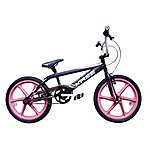 "image of Harlem Xr22 BMX Bike 20"" Pink Mag Black"