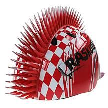 image of Raskullz Krash Red Mohawk Pirate Child's Helmet Safety 4-7 Years.