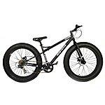image of Coyote Fatman Gents 17 Inch 7 Speed 26x4 Fat Tyre Bike Black
