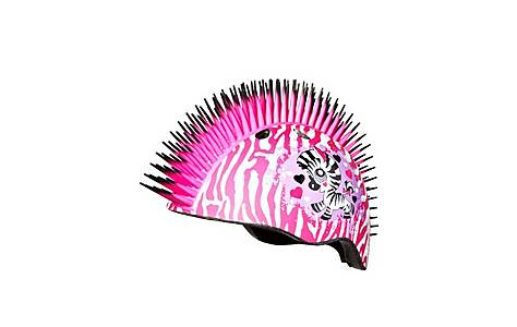 image of Raskullz Krash Pink Mohawk Girls Child's Helmet Safety 4-7 Years