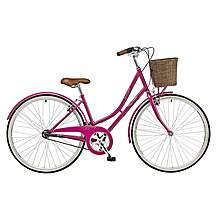 image of 2016 Claud Butler Sandringham Ladies 700c 3 Speed Hub Gear Traditional Bike Plum