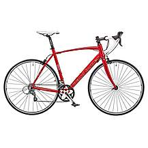 image of Claud Butler Torino Sr2 Mens 700c 16spd Sti Alloy Frame Carbon Forks Road Racing Bike Red