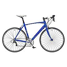 image of Claud Butler Torino Sr3 Mens 700c 18spd Sora Sti Alloy Frame Carbon Forks Road Racing Bike Blue
