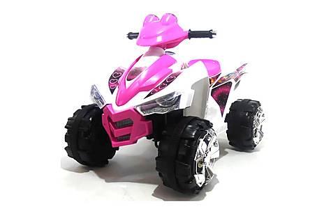image of Predatour 12v Electric Battery Powered Kids Quad - Pink