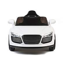 image of Audi Style 12v Kids Electric Ride On Car With Remote - White