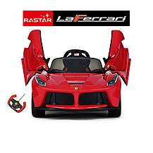 image of Licensed Laferrari 12v Electric Kids Ride On Car With Remote - Red