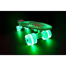 image of Mello Lime Slush 22in Cruiser With Led Wheels