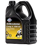 image of Silkolene Comp 4 10w-40 Xp Ester Based Semi Synthetic Bike Engine Oil - 4 Litres