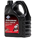 image of Silkolene Pro 4 10w-40 Xp Ester Full Synthetic 4t Bike Engine Oil - 4 Litres
