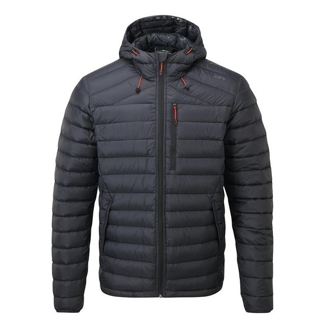 Zenon Mens Down Hooded Jacket