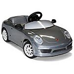 image of Porsche 911 Silver Pedal Car
