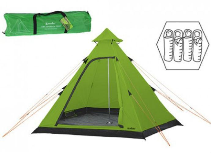 Summit Hydrahalt 4 Person Tipi Tent  sc 1 st  Halfords & Hydrahalt 4 Person Tipi Tent