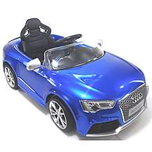 image of Licensed Audi Rs5 Electric 12v Kids Ride On Car With Remote - Blue