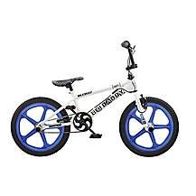 image of Rooster Big Daddy 18in Bmx Skyway Mag Freestyle Bike Blue/white