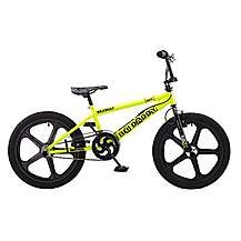 image of Rooster Big Daddy 20in Bmx Skyway Mag Freestyle Bike Black/yellow