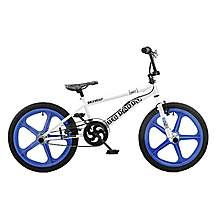 image of Rooster Big Daddy 20in Bmx Skyway Mag Freestyle Bike Blue/white