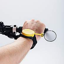 image of Myklops, Wrist Mounted Folding Cycling Mirror