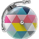 Urban Proof Retro Bicycle Bell, Colour Triangles