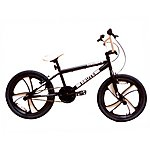 image of Zombie Brute Bmx Bike 20 Inch Mag Wheels Black