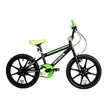 "image of Zombie Frenzy BMX Bike Mag 18"" Black/green"
