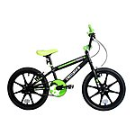 "image of Zombie Frenzy BMX Bike Mag 18"" Black/green"